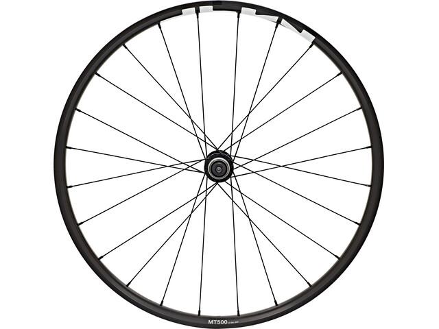 """Shimano WH-MT500 MTB Vorderrad 27,5"""" Disc CL Clincher QR schwarz"""